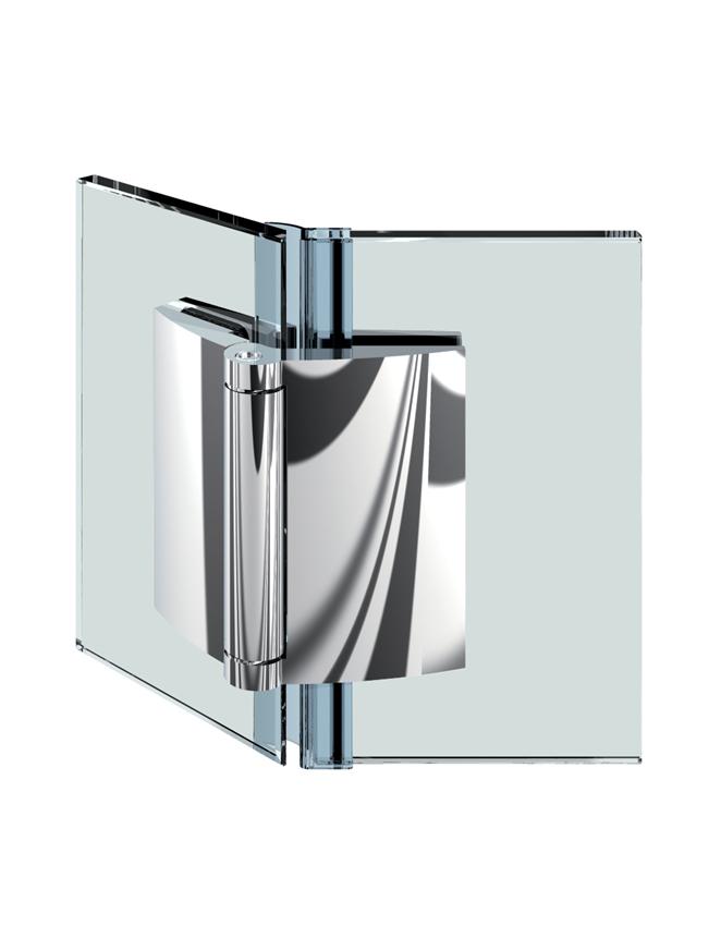 FARFALLA pánt, sklo-sklo 135°