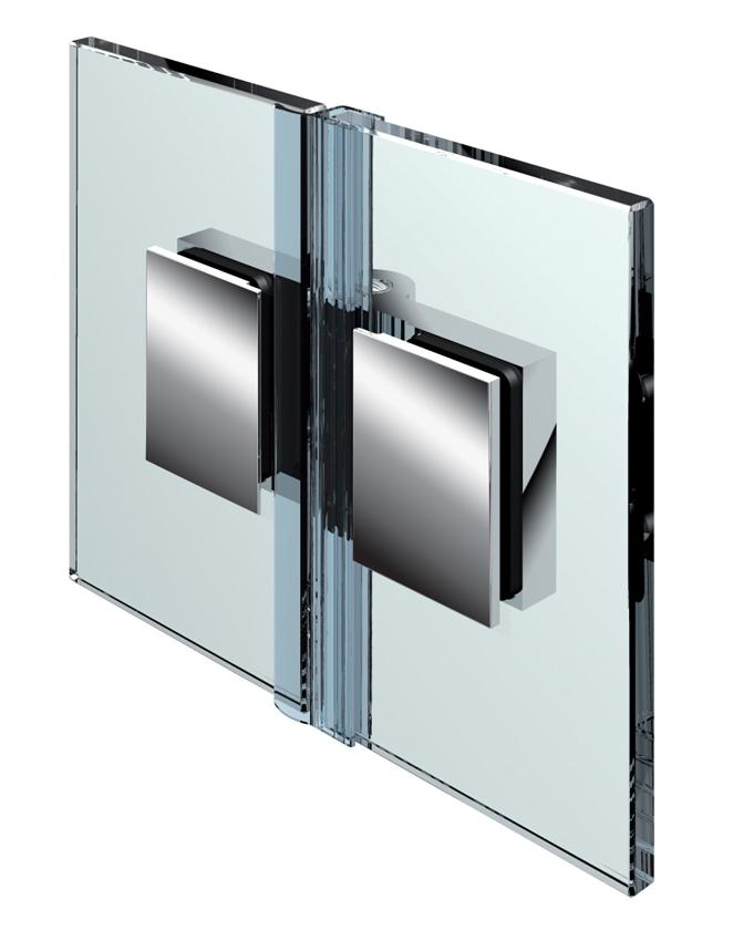 FLINTER pánt, sklo-sklo 180°