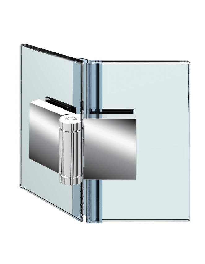 FLINTER pánt, sklo-sklo 135°