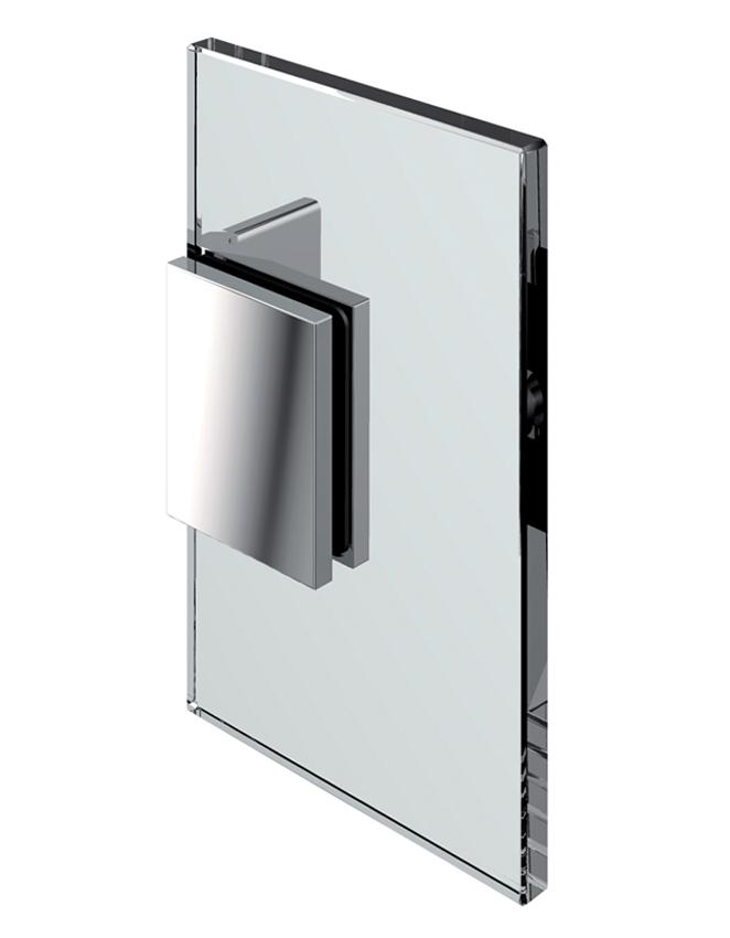 Pevný rohový spojovník, stena-sklo 90°