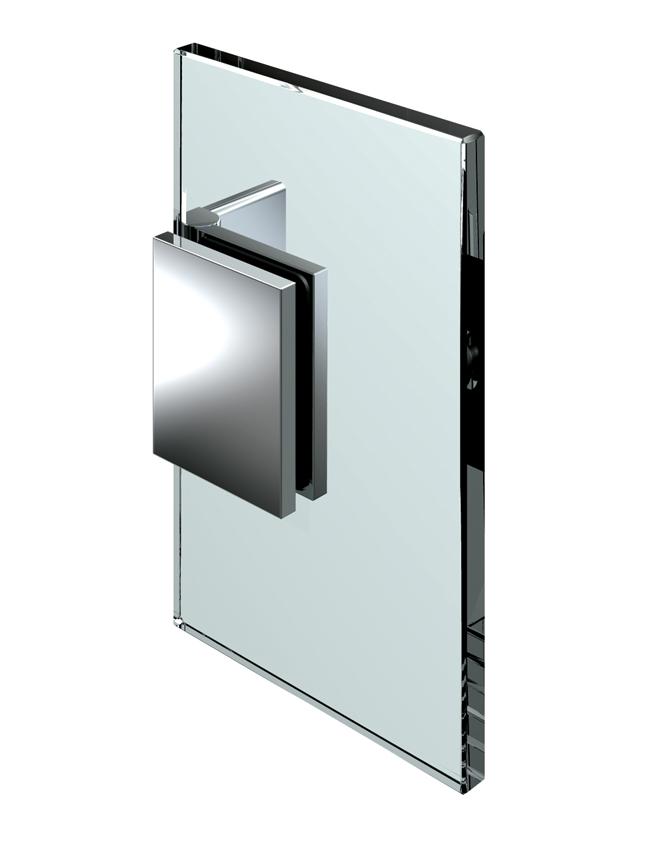 Nastavitelný spojovník, stěna-sklo 60 ° -100 °