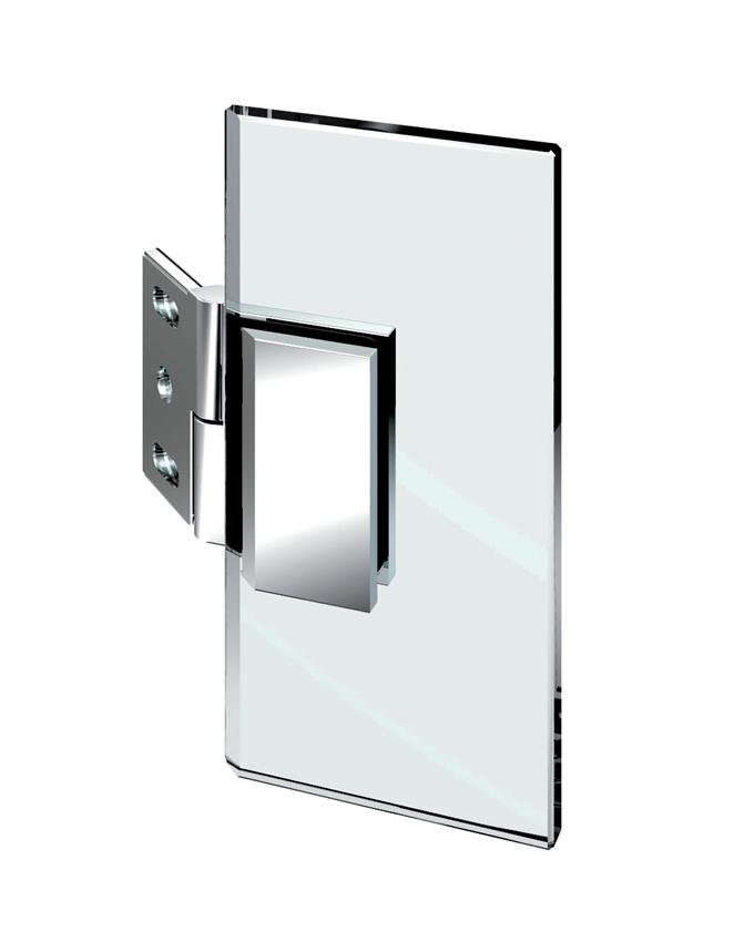 Nastavitelný spojovník, stěna-sklo 100 ° -140 °