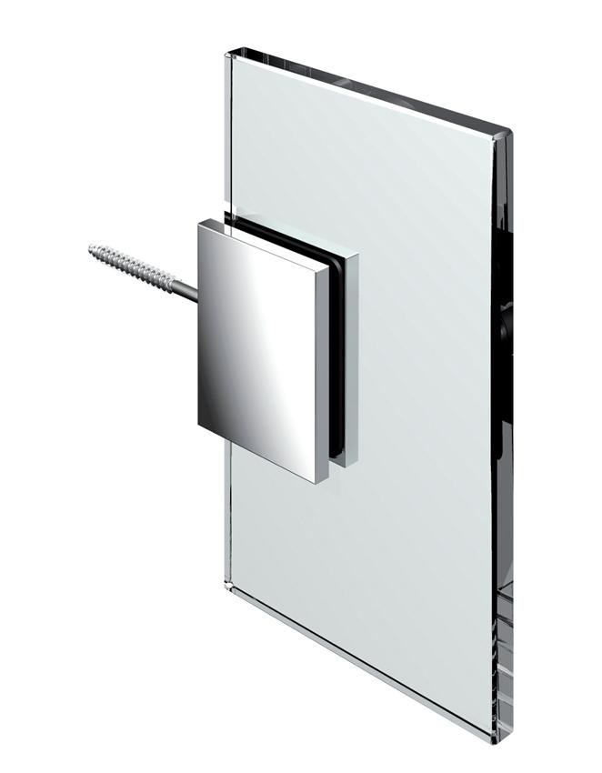 Pevný spojovník, stěna-sklo 90 °