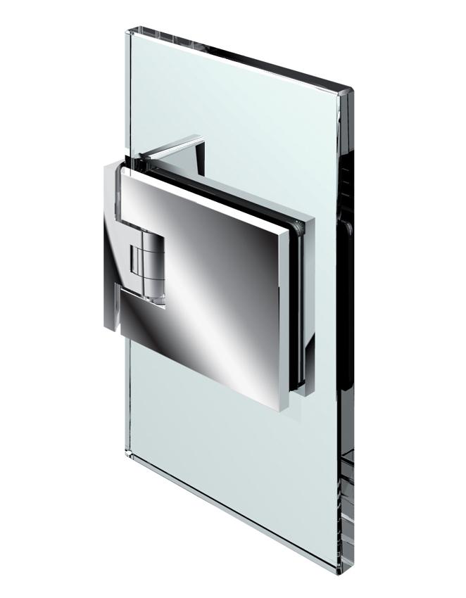 FLAMEA kyvný pánt, stena-sklo 90°