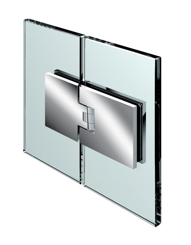 FLAMEA kyvný pánt, sklo-sklo 180°