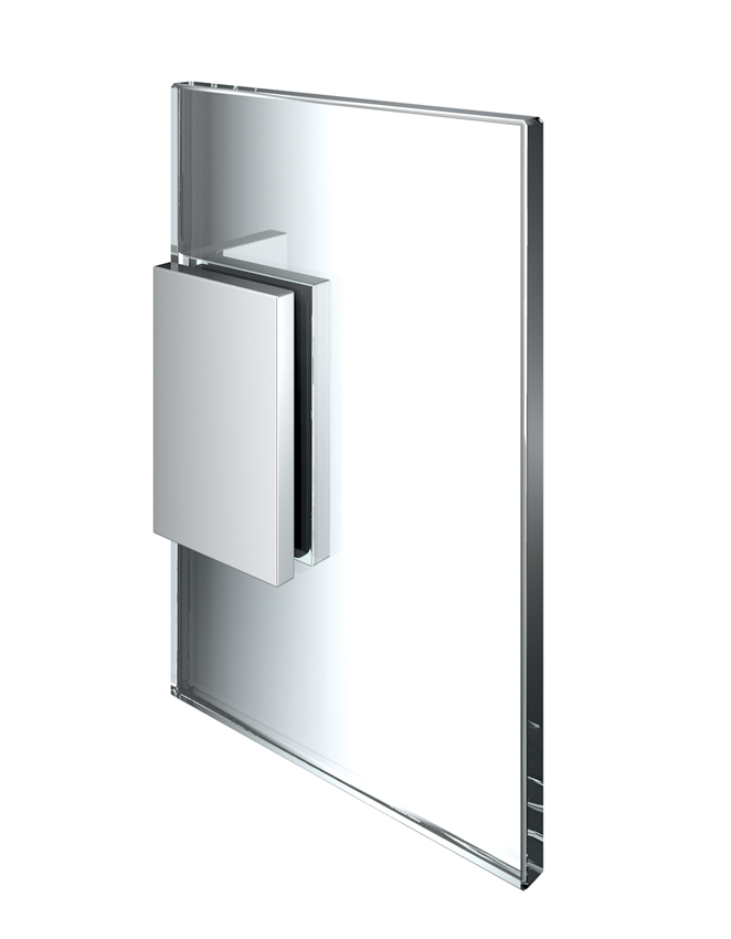 FLAMEA+ pevný spojovník, stena-sklo 90°