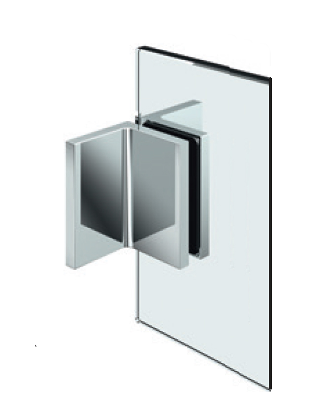 FLAMEA+ pevný rohový spojovník, stena-sklo 90°