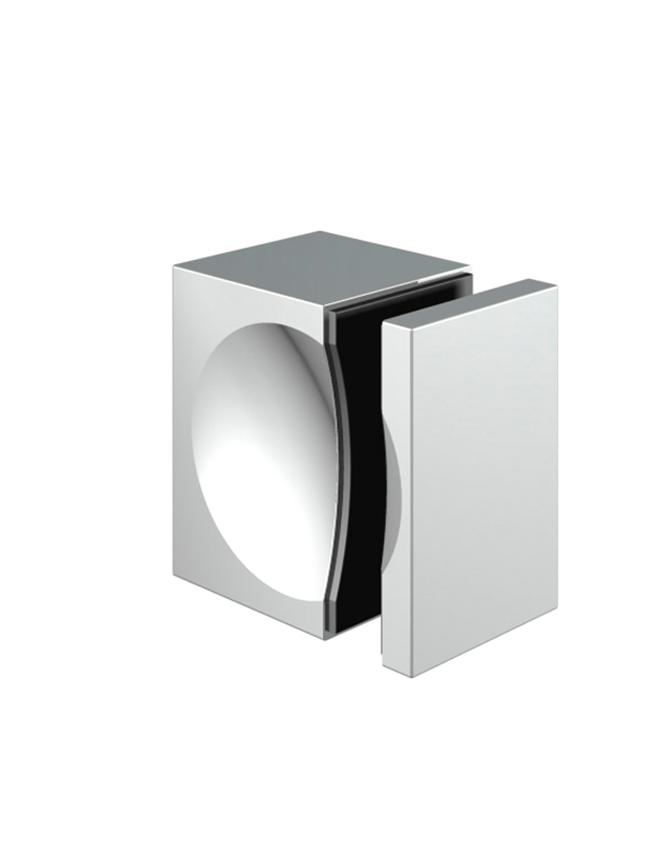 Jednostranné madélko skleněných dveří