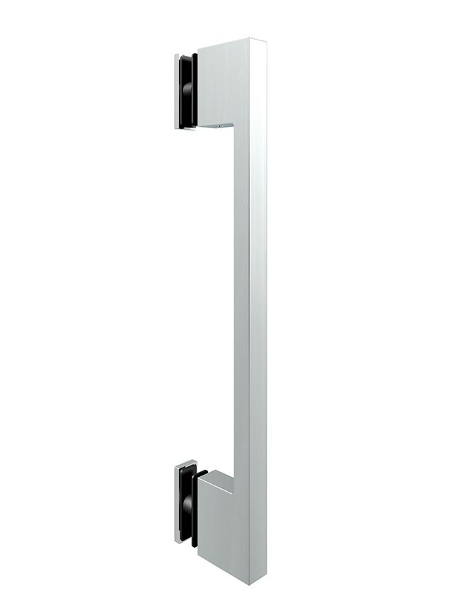 Jednostranné madlo sklenených dverí