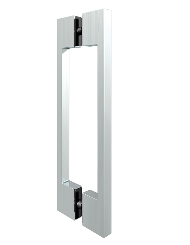 Obojstranné madlo sklenených dverí