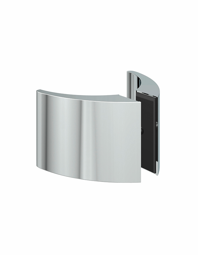 Obojstranné madielko sklenených dverí