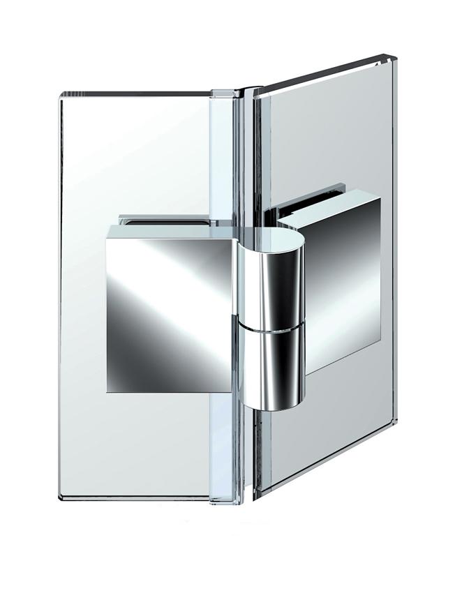 NIVELLO zdvíhací pánt, sklo-sklo 135°