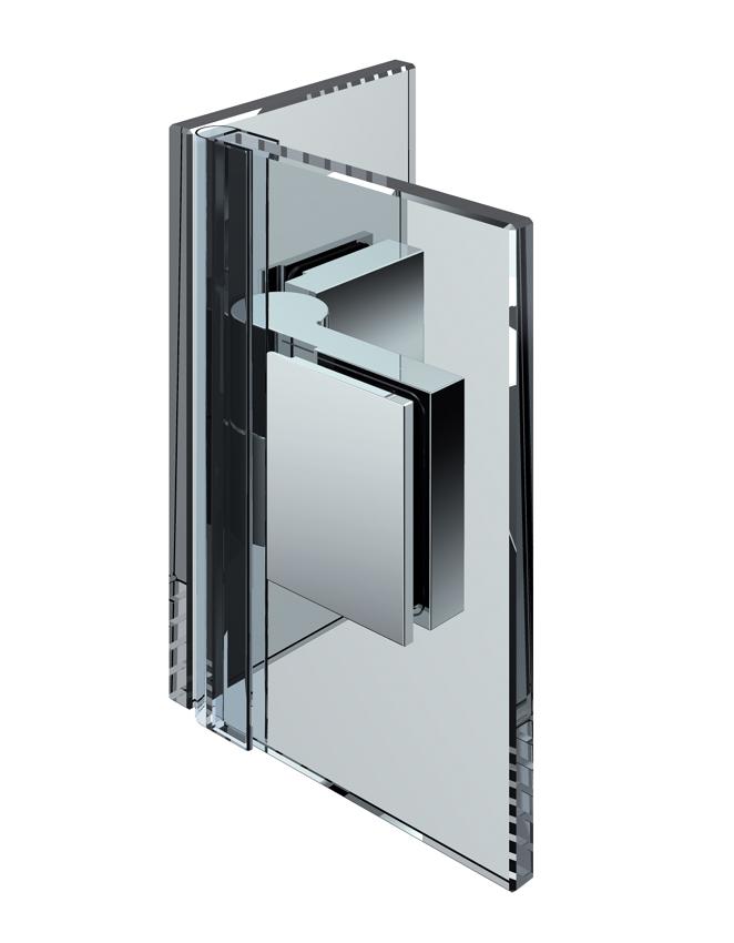 NIVELLO zdvíhací pánt, sklo-sklo 90°