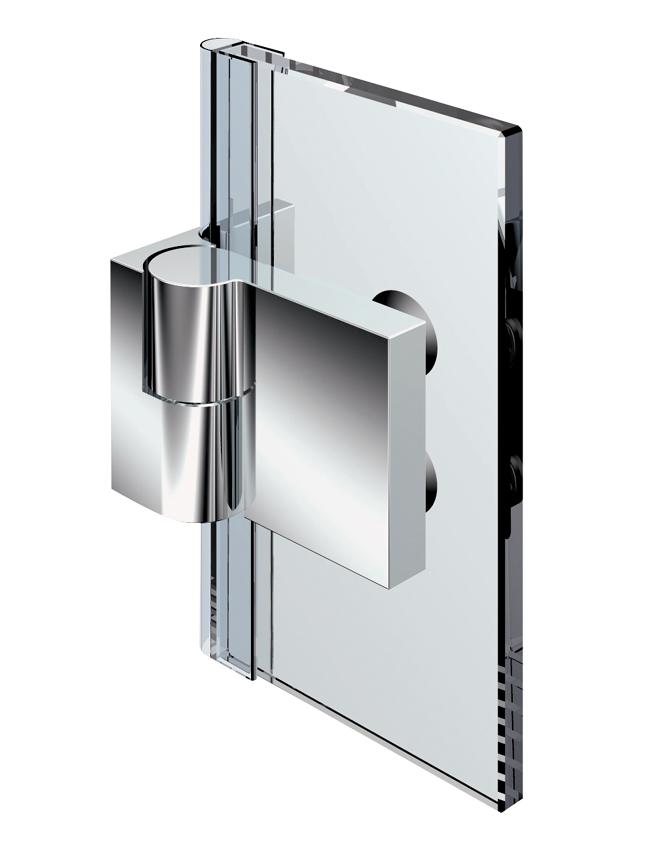 Nivello+ zvedací pant, stěna-sklo 90 °