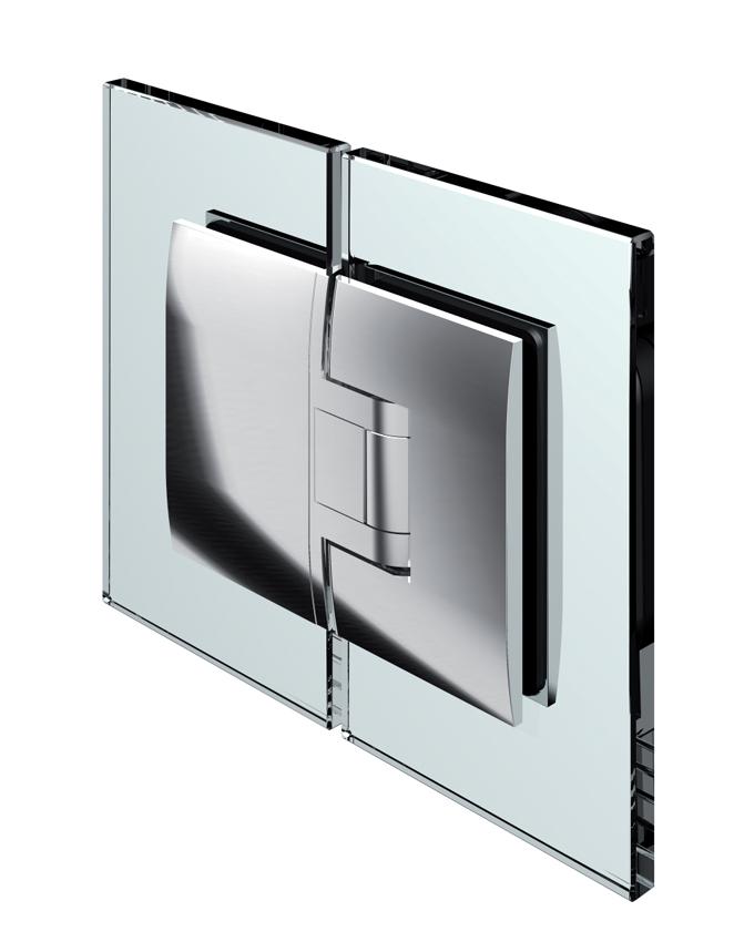 PONTERE kyvný pánt, sklo-sklo 180°