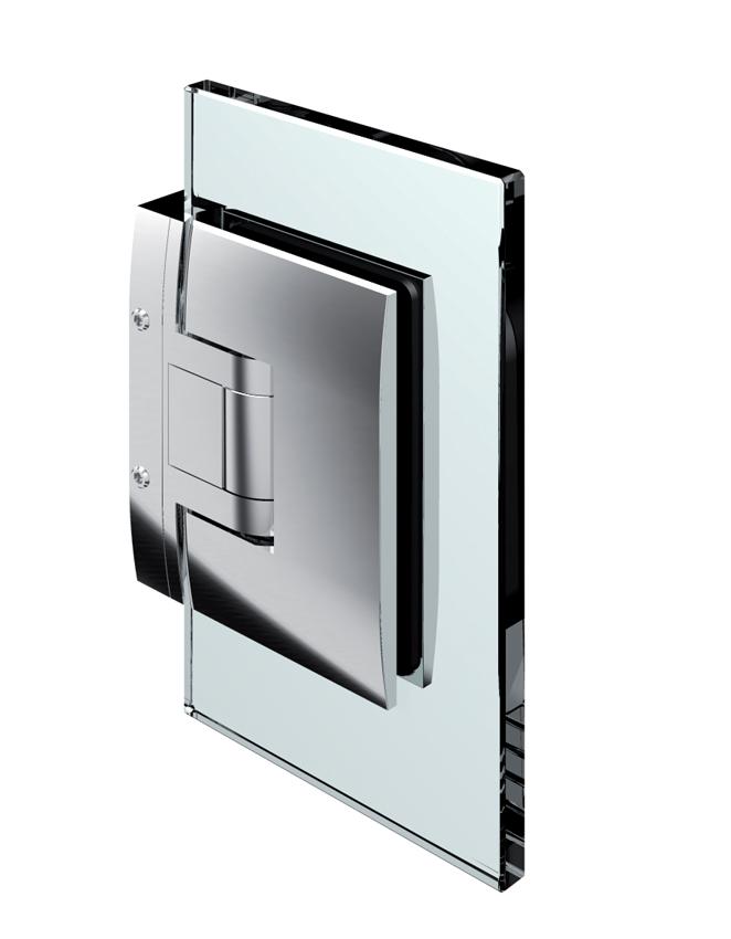 PONTERE kyvný pánt, stena-sklo 90°