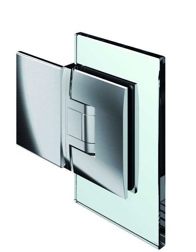 PONTERE kyvný pánt, stena-sklo 180°