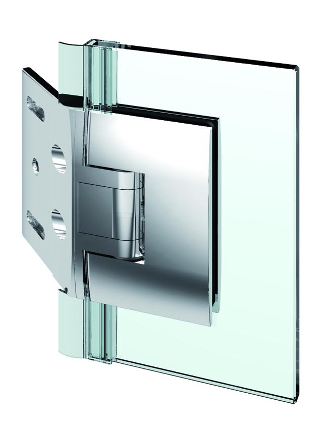 PONTERE kyvný pánt, stena-sklo 135°