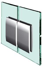 Pevný spojovník, sklo-sklo 180°