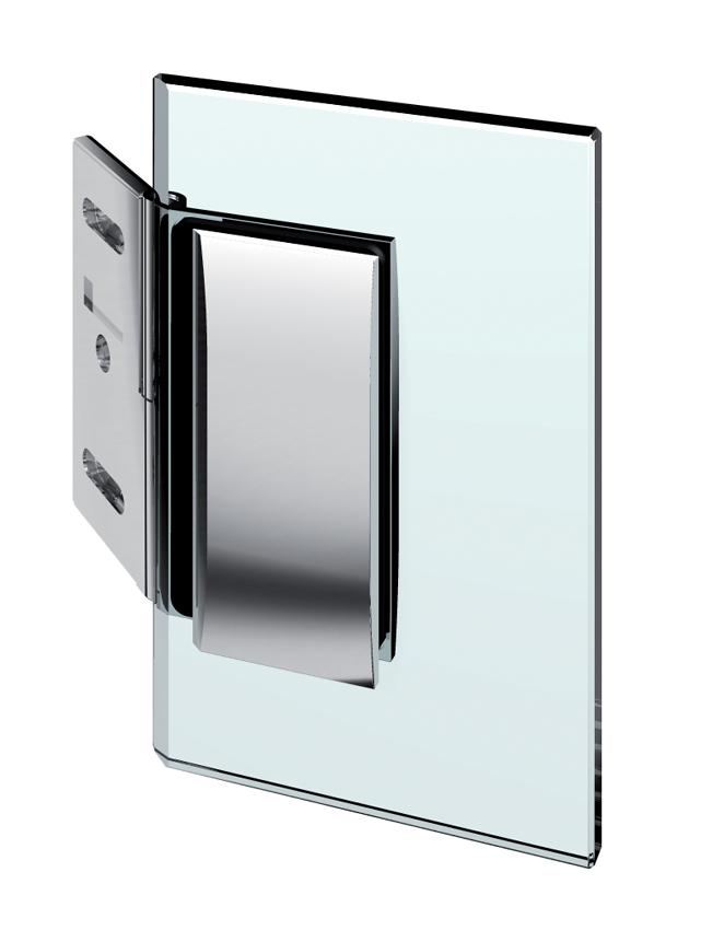 Nastaviteľný spojovník, stena-sklo 90°-140°