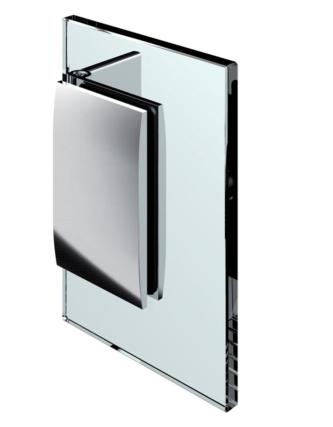 Nastaviteľný spojovník, stena-sklo 60°-100°