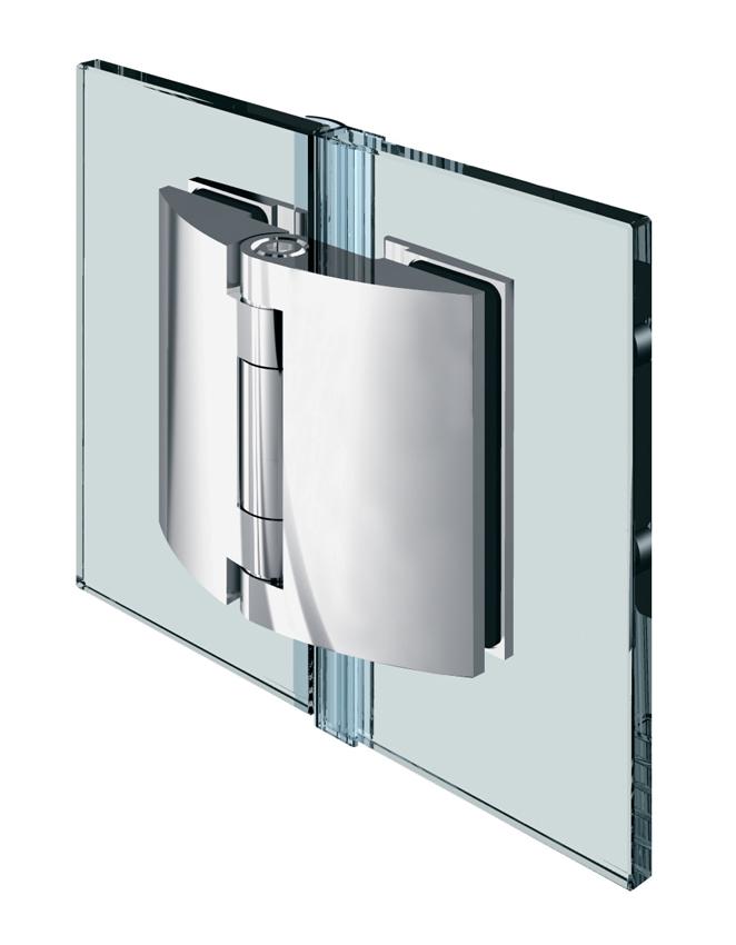 PILLANGO pánt, sklo-sklo 180°