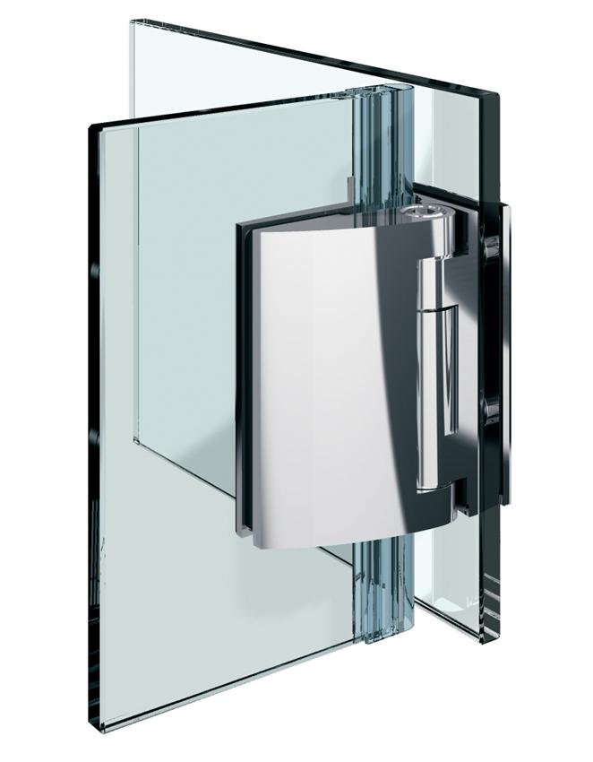PILLANGO pánt, sklo-sklo 90°