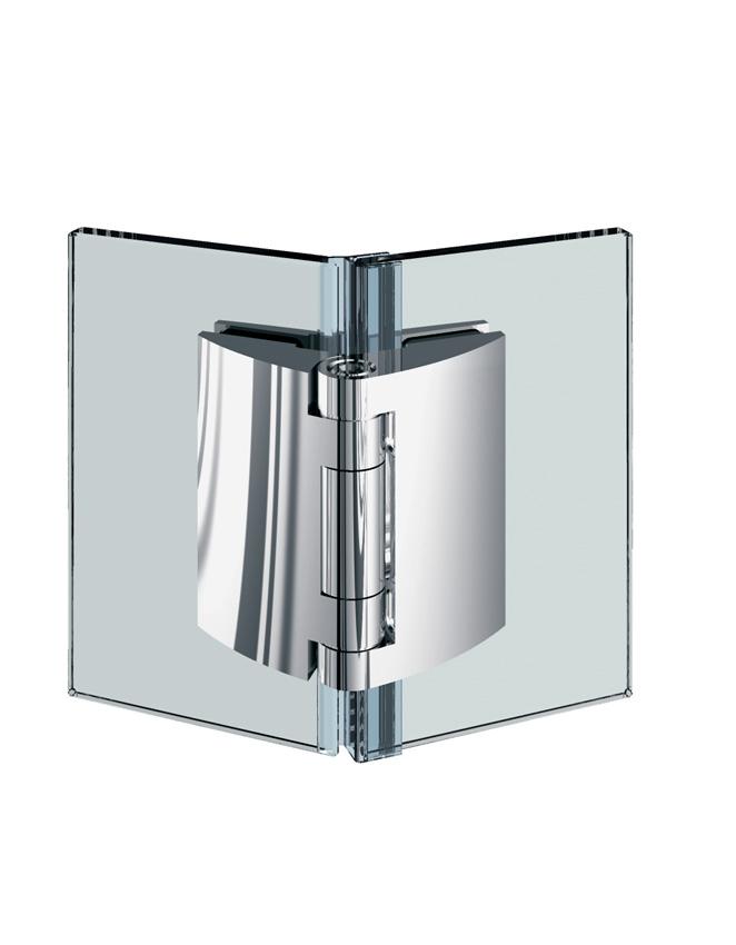 PILLANGO pánt, sklo-sklo 135°