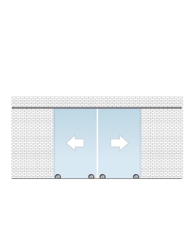 Silent glam set určený pro montáž na stěnu