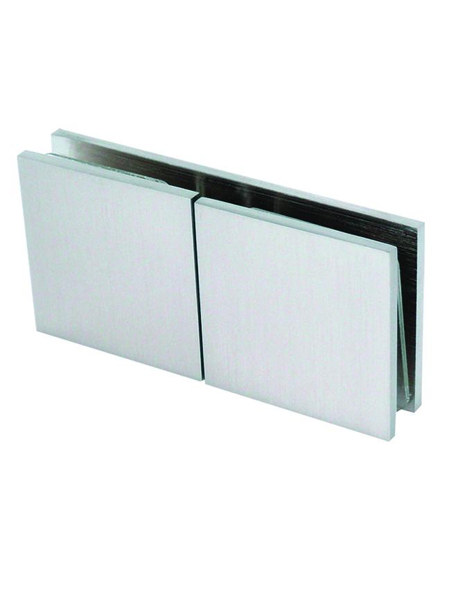 Pevný spojovník sklo-sklo 180°